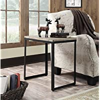 Convenience Concepts Wyoming End Table, China Fir Table Top