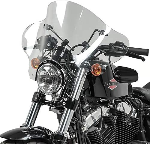 Windschild Batwing Suzuki Intruder VS 750 86-91 klar