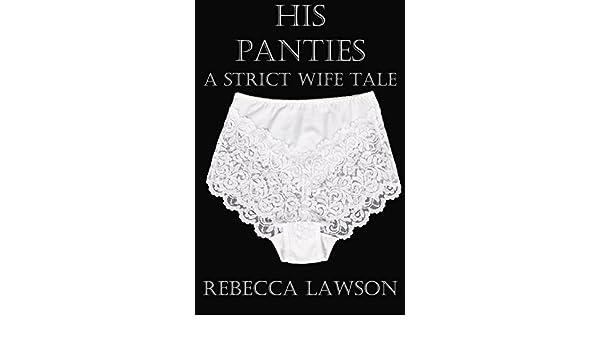 Pulled down his panties femdom