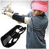 IZAP ゴルフ スイング 矯正 手打ち 防止 練習 肘 サポータープロ