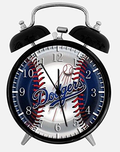 Dodgers Alarm Desk Clock 3.75