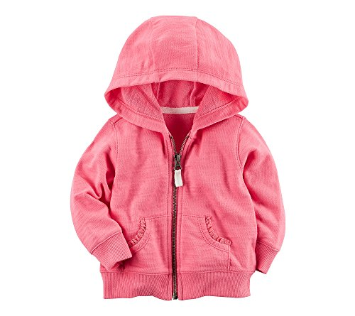 carters-baby-girls-lace-accented-hoodie-bright-pink-6-months