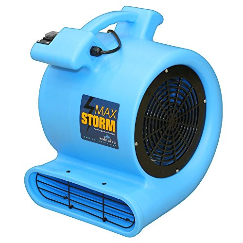 [해외]최대 스톰 플로어 & amp; /Max Storm Floor & Carpet Drying Fan Blower Air Mover by Summit Air 2800 CFM Airflow