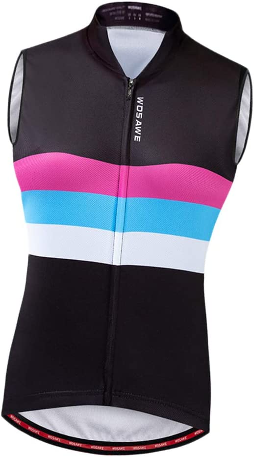 Cycling Vest Windproof Gilet Bike Running Reflective Tops Motorcycle t-Shirt