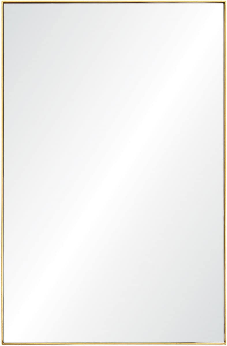 Ren-Wil Renwil Contemporary Design Home Florence Framed Gold Leaf Finish Mirror