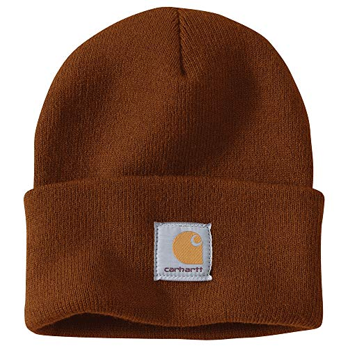 Brown Imported - Carhartt Men's Acrylic Watch Hat A18, Umber, One Size
