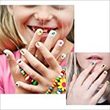 Konsait 1000+pcs Summer Nail Art Stickers 3D