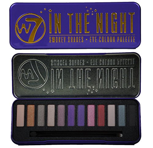 "W7 -""In The Night"" Smokey Shades - Eye Colour Palette 12 in"