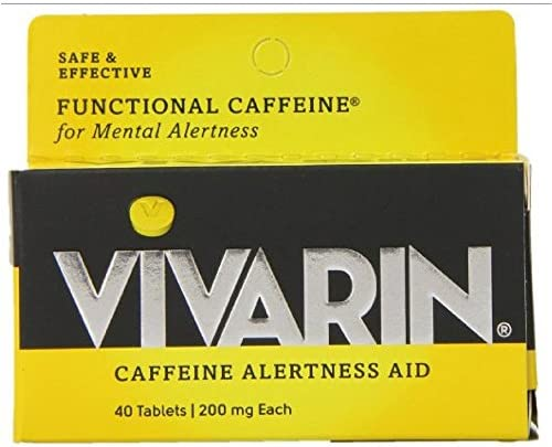 Vivarin Caffeine Alertness Aid, Tablets 40 ea Pack of 6