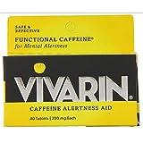Vivarin Caffeine Alertness Aid, Tablets 40 ea (Pack of 12)