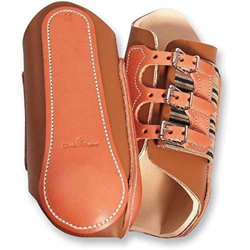 (Classic Equine Leather Splint Boots Medium )