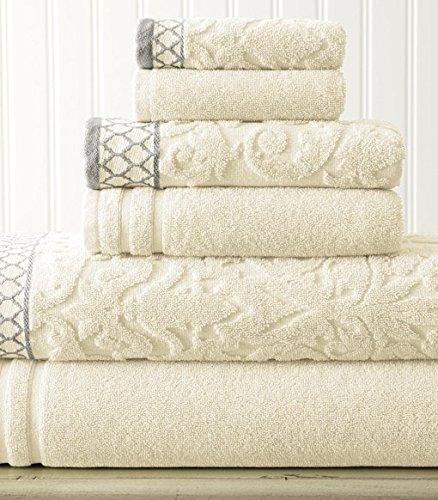 6 Piece Jacquard Towel Set product image