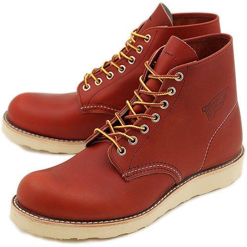 REDWING レッドウィング ブーツ #8166 CLASSIC WORK BOOTS クラシック ワークブーツ 6インチ ラウンドトゥ/プレーントゥ ORO-RUSSET PORTAGE(RED WING) B00BFUD3D0