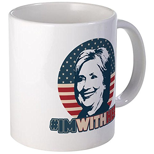 - CafePress Hillary 2016 - I'm With Her Mug Unique Coffee Mug, Coffee Cup