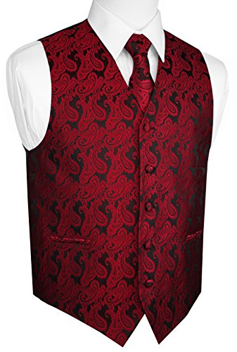 Red 4 Buckle Vest - 7
