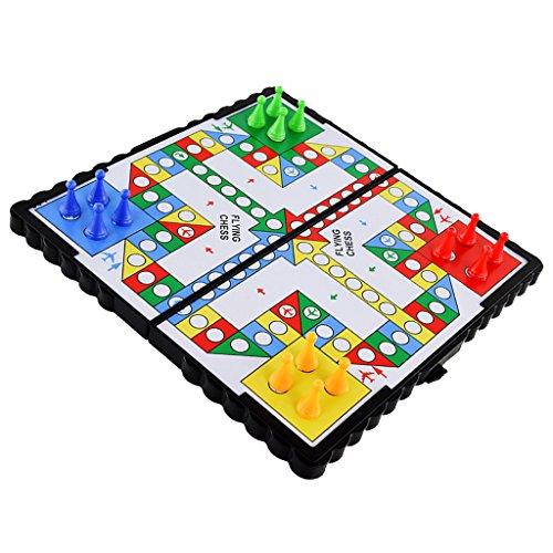 B Baosity 約16個 磁気ペグ ボードゲーム 子供 プラスチック フライングチェス フライトゲーム 思考能力アプ