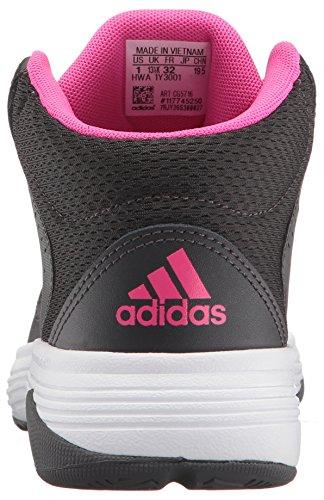 fb9b59ef0142 adidas Kids  Cloudfoam Ilation Mid Basketball Shoe