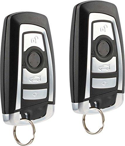 fits 2011-2016 BMW 5, 7, Series, Alphina B7, M5, X3 Keyless Entry Remote Key Fob (KR55WK49863), Set of 2
