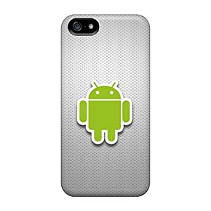 FIlPjRq6933xpBqH Case Cover, Fashionable Iphone 5/5s Case - Android Logo