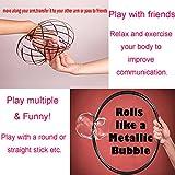 BIBOYELF Flow Ring Kinetic 3D Spring Magic Toy