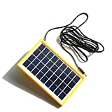 Generic 3W 9V Polycrystalline Solar Cell With 3M DC 5521 Cable DIY Solar Panel System For 9V Battery Charger Waterproof