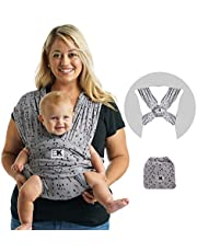 Baby K'tan Baby Wrap Carrier, Infant and Child Sling - Simple Pre-Wrapped Holder for Babywearing - No Tying or Rings - Carry Newborn up to 15 kg