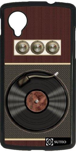 Funda para Google Nexus 5 - Tocadiscos Vintage: Amazon.es: Electrónica