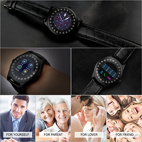 Bluetooth Smartwatch Fitness Watch Wrist Phone Watch Touch Screen IP67  Waterproof Fitness Tracker with Heart Rate Monitor Pedometer Sports  Activity