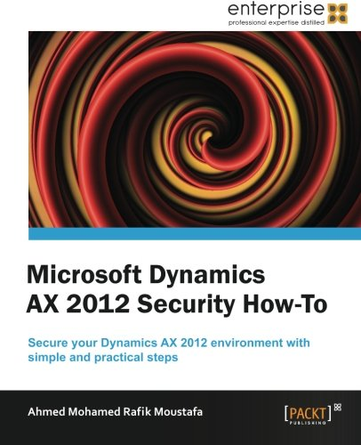 Microsoft Dynamics AX 2012 Security How to by Ahmed Mohamed Rafik Moustafa, Publisher : Packt Publishing
