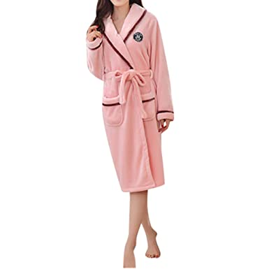 19e374169a MIRRAY Super Soft Men Dressing Gown Womens Hooded Robe Offers a Great  Combination Between Quality and