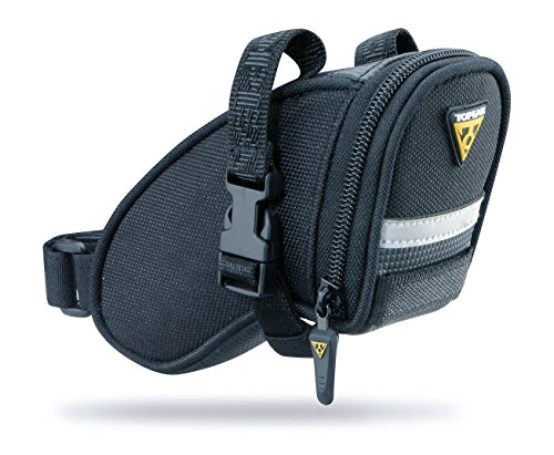 Topeak  TC2471B Aero Wedge Pack with Strap Mount, Micro