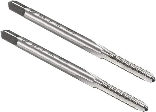 HSS 2.5mm x 0.45 Metric Tap Left Hand Thread M2.5 x 0.45mm Pitch