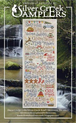 My Christmas List Cross Stitch Chart and Free Embellishment