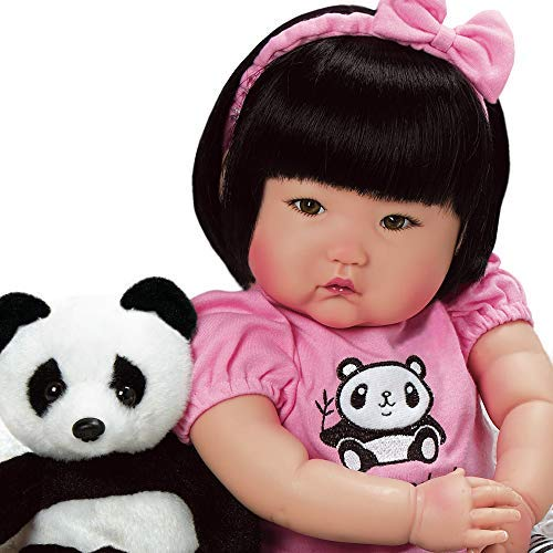 Doll Lee Middleton Toddler - Paradise Galleries Lifelike Asian Reborn Baby Doll Bamboo, 20 inch Chinese Girl in GentleTouch Vinyl & Weighted Body, 7-Piece Doll Gift Set