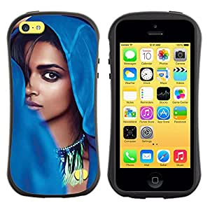 LASTONE PHONE CASE / Suave Silicona Caso Carcasa de Caucho Funda para Apple Iphone 5C / cool beauty