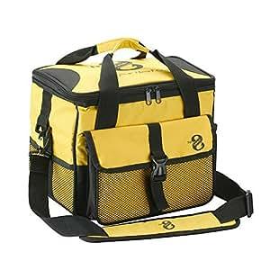 13 fishing 8 tackle bag yellow sports for Amazon fishing gear