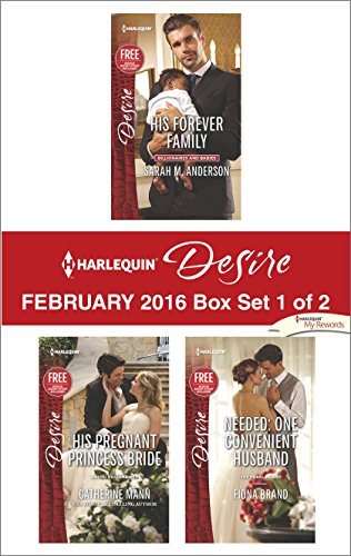 book cover of Harlequin Desire February 2016 - Box Set 1 of 2
