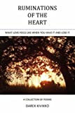 Ruminations of the Heart, Darek Lee Kivikko, 0595486142