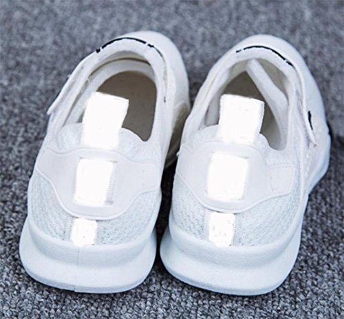 MEI autunno scarpe sportive adesivi magici piccoli scarpe bianche scarpe nere scarpe casual scarpe da donna traspirante , US7.5 / EU38 / UK5.5 / CN38