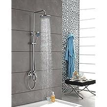 YFF@ILU Cu all shower Top-spout Shower Head Kit shower bath-shower combination SHOWER MIXER 3 document B