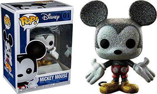 - Funko Pop Disney: Glitter Mickey Mouse Collectible Figure, Multicolor