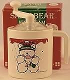 1986 - Vintage Donvier / Dayton Hudson - SantaBear Ice Cream Maker - Makes 1/2 Pint -