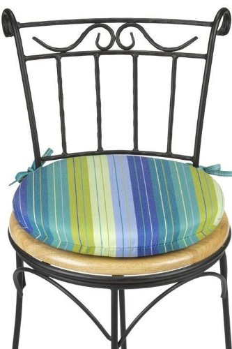 bullnose outdoor chair cushion 1 5 quot hx15 quot diameter
