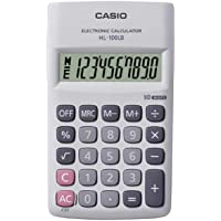 Casio HL-100LB Portable Calculator, 10 Digit
