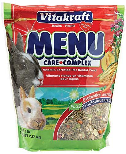 Vitakraft Menu Vitamin Fortified Pet Rabbit Food, 5 ()
