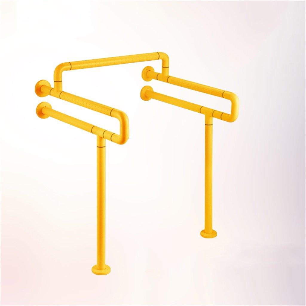 Bagagliaio Corrimano Sicurezza Booster Senza Barriere Anziani Maniglia Donna Incinta Handicap Handrail (colore   Giallo)