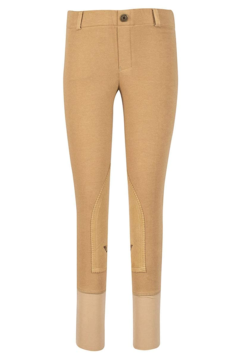 7af2287036bbe3 Amazon.com : TuffRider Girl's Starter Low Rise Pull-On Breech : Riding  Breeches : Clothing