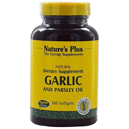 Nature's Plus, Garlic and Parsley Oil, 180 Softgels - - Softgels Garlic 180