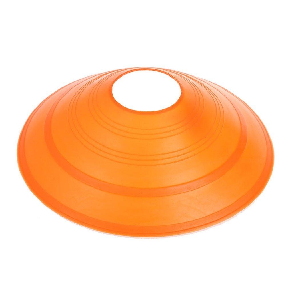 ink2055 10Pcs Soccer Cones Saucer Football Cross Training Sports Space Marker Landmark