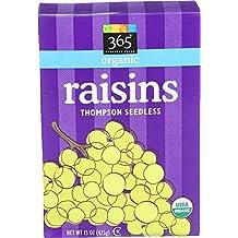 365 Everyday Value, Organic Raisins, 15 Ounce